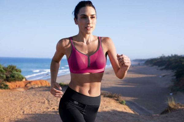 Anita Deltapad roze sport bh zonder beugel